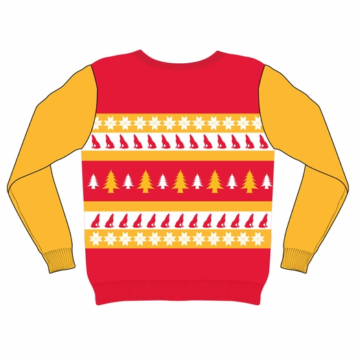 Kansas City Chiefs NFL Ugly Sweater Wordmark