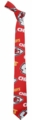 Kansas City Chiefs NFL Ugly Tie Repeat Logo by Forever Collectibles