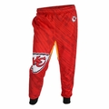 Kansas City Chiefs Polyester Mens Jogger Pant by Klew