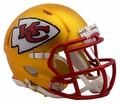 Kansas City Chiefs Riddell Blaze Alternate Speed Mini Helmet
