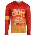 Kansas City Chiefs Super Bowl IV Champions Poly Hoody Tee