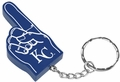 Kansas City Royals #1 Foam Finger Keychain