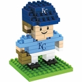 "Kansas City Royals MLB 3D 2"" Player BRXLZ Puzzle By Forever Collectibles"