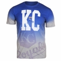 Kansas City Royals MLB Gray Gradient Tee by Forever Collectibles