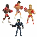 "Kasual Friday Wave 2 (Set of 4) ""Rocky III"" With ""Robocop"" SuperStar Action Figures"
