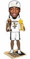 Kawhi Leonard (San Antonio Spurs) 2014 NBA Champ (T-Shirt/Hat) Finals MVP Trophy Newspaper Base Bobble Head Exclusive #/300