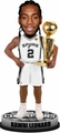 Kawhi Leonard (San Antonio Spurs) 2014 NBA Champ Trophy Bobble Head