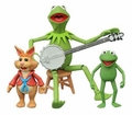 Kermit, Robin & Bean Bunny The Muppets Series 1 Action Figure 3-Pack