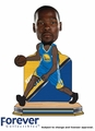 Kevin Durant (Golden State Warriors) Name and Number 2016 NBA Bobble Head by Forever Collectibles