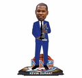 "Kevin Durant (Oklahoma City Thunder) 2013-14 NBA MVP (Suit) Forever Collectibles 10"" Bobblehead #/504"