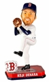 Koji Uehara (Boston Red Sox) Forever Collectibles 2014 MLB Springy Logo Base Bobblehead