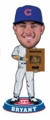 Kris Bryant (Chicago Cubs) 2015 MLB Awards (N.L. Rookie of the Year) Trophy Bobble Head Forever Collectibles