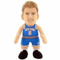 "Kristaps Porzingis (New York Knicks) (White Jersey) 10"" Player Plush NBA Bleacher Creatures"
