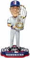 Kyle Hendricks (Chicago Cubs) 2016 World Series Champions Bobble Head by Forever Collectibles