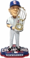 Kyle Schwarber (Chicago Cubs) 2016 World Series Champions Bobble Head by Forever Collectibles