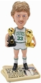Larry Bird (Boston Celtic) Finals MVP/Champ Trophy Newspaper Base NBA Legends Bobble Head