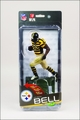 Le'Veon Bell (Pittsburgh Steelers) NFL 35 McFarlane Collector Level Silver CHASE #/1000