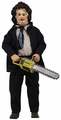 Leatherface In Formal Attire (Texas Chainsaw Massacre) Clothed Retro Style Action Figure NECA