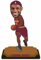 "LeBron James (Cleveland Cavaliers) 2015 NBA Real Jersey 10"" Bobble Heads Forever Collectibles"