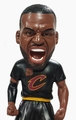 LeBron James (Cleveland Cavaliers) 2016 NBA Finals Game 5 (40 Point Game) Newspaper Base Bobble Head Exclusive by Forever Collectibles