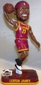 LeBron James (Cleveland Cavaliers) Forever Collectibles 2014 NBA Springy Logo Base Bobblehead