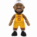 "LeBron James (Cleveland Cavaliers - Gold Jersey) 10"" Player Plush NBA Bleacher Creatures"