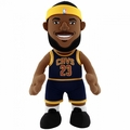 "LeBron James (Cleveland Cavaliers) (Navy Jersey) 10"" Player Plush NBA Bleacher Creatures"