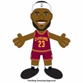 "LeBron James (Cleveland Cavaliers - Maroon Jersey) 10"" Player Plush NBA Bleacher Creatures"