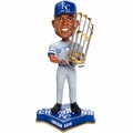 Lorenzo Cain (Kansas City Royals) 2015 World Series Champions Bobble Head