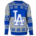 Los Angeles Dodgers Big Logo MLB Ugly Sweater
