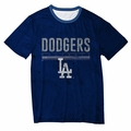 Los Angeles Dodgers Big Logo Half Tone Tee by Forever Collectibles