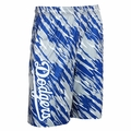 Los Angeles Dodgers MLB 2016 Repeat Print Polyester Shorts By Forever Collectibles