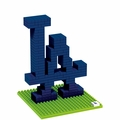 Los Angeles Dodgers MLB 3D Logo BRXLZ Puzzles By Forever Collectibles