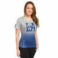 Los Angeles Dodgers MLB Team Color Gradient Women's V-Neck Tee by Forever Collectibles