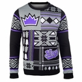 Los Angeles Kings NHL Patches Ugly Sweater by Klew