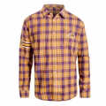 Los Angeles Lakers NBA 2015 Women's Wordmark Long Sleeve Flannel Shirt