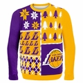 Los Angeles Lakers NBA Ugly Sweater BusyBlock