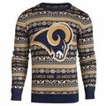 Los Angeles Rams NFL 2016 Aztec Ugly Crew Neck Sweaters by Forever Collectibles
