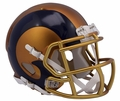 Los Angeles Rams Riddell Blaze Alternate Speed Mini Helmet
