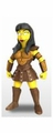 "Lucy Lawless (The Simpsons 25th Anniversary) 5"" Action Figure Series 2 NECA"