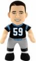"Luke Kuechly (Black Jersey) (Carolina Panthers) 10"" NFL Player Plush Bleacher Creatures"