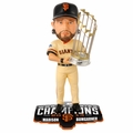 Madison Bumgarner (San Francisco Giants) 2014 World Series Champs Trophy Bobble Head Forever
