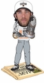Madison Bumgarner (San Francisco Giants) 2014 World Series MVP/Champ Trophy (T-Shirt/Hat) Newspaper Base Bobble Head CLARKtoys.com Exclusive Forever #/300