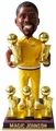 Magic Johnson (Los Angeles Lakers) 5X Champ/Warm-Up NBA Legends Bobble Head Exclusive #/500 Forever