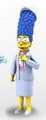 "Marge Simpson (The Simpsons 25th Anniversary) 5"" Action Figure Series 4 NECA"