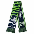 Marshawn Lynch (Seattle Seahawks) Player Scarf by Klew