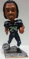 Marshawn Lynch (Seattle Seahawks) 2015 Springy Logo Action Bobble Head Forever Collectibles