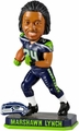 Marshawn Lynch (Seattle Seahawks) Forever Collectibles 2014 NFL Springy Logo Base Bobblehead