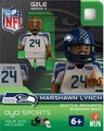 Marshawn Lynch (Seattle Seahawks) NFL OYO G2 Sportstoys Minifigures