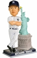 "Masahiro Tanaka (New York Yankees) with Statue of Liberty 10"" MLB Bobble Head Forever"
